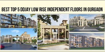 Best Top 5 DDJAY Low Rise Independent Floors in Gurgaon